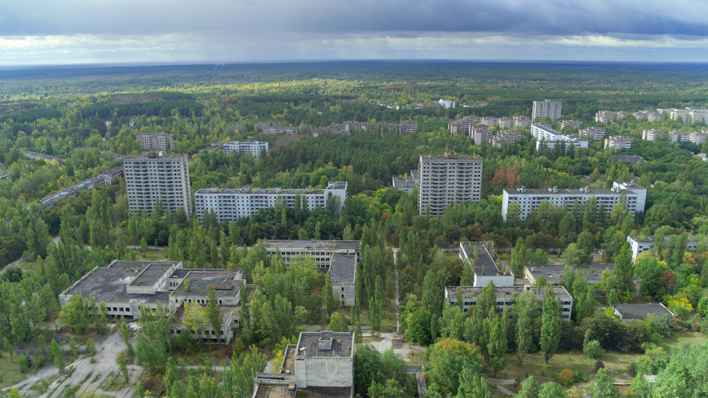 Tsjernobyl. WWF-UK / DAVID ATTENBOROUGH: A L