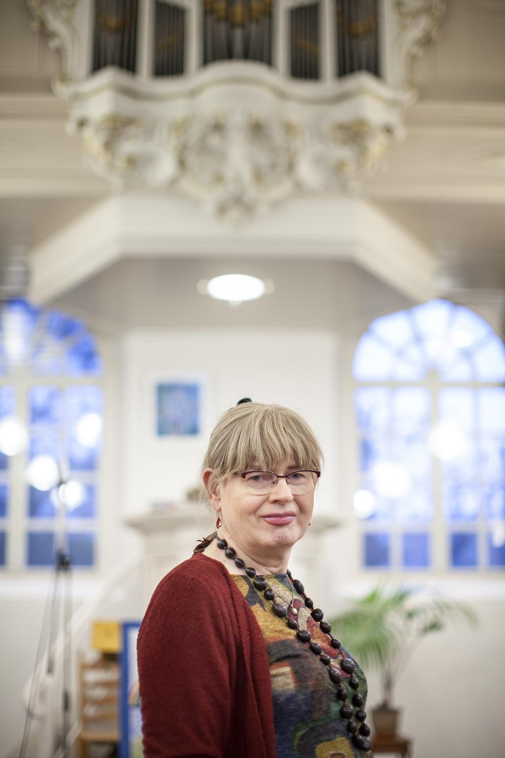 Jolanda Molenaar: 'Het voelt alsof we gestenigd worden door de witte mannen achter de Nashville-verklaring.' Foto Harry Cock / VK