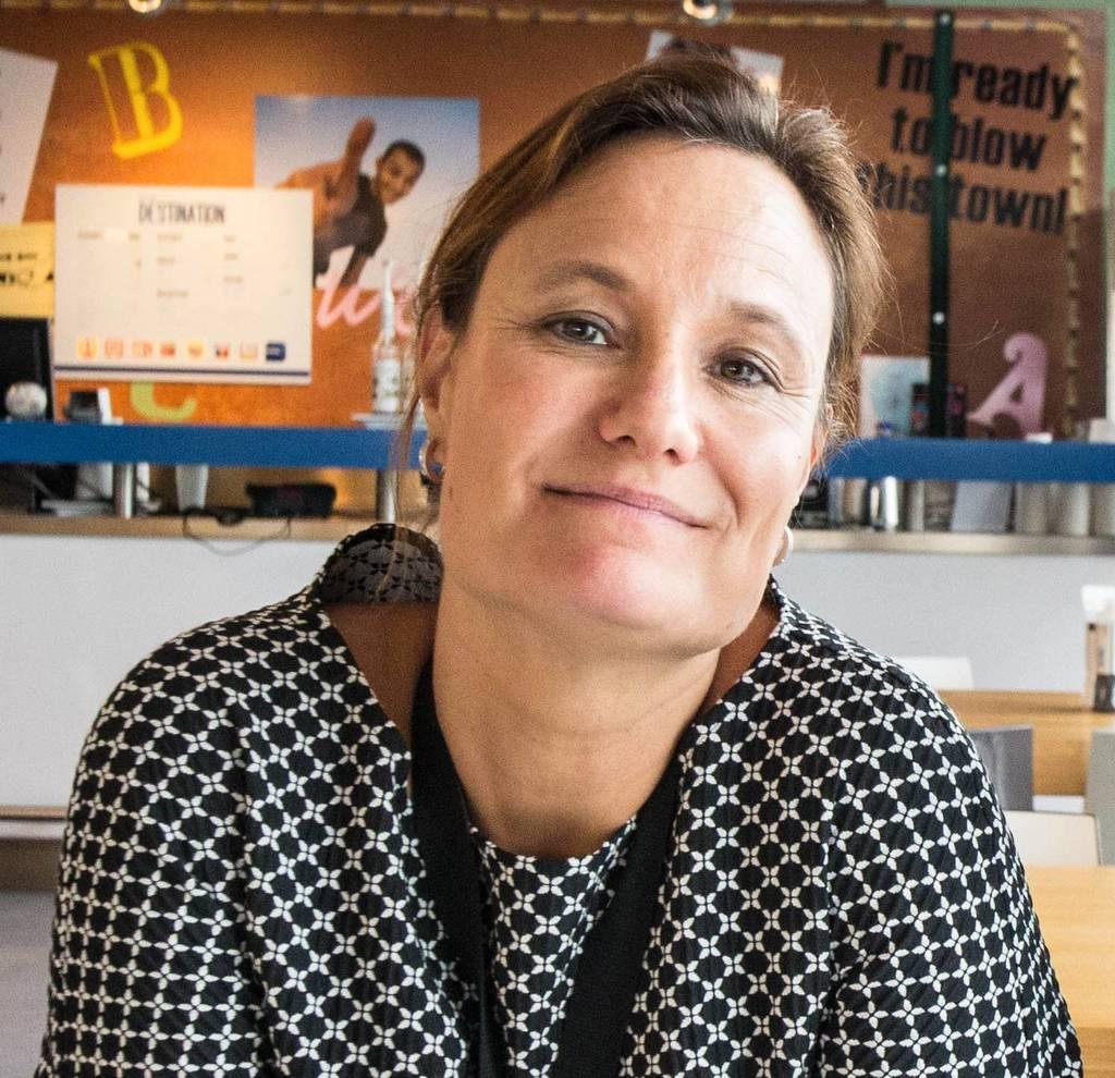 Gillian Tans: 'We vinden het erg belangrijk om mensen aan te moedigen zich uit te spreken.' Foto Cigdem Yuksel